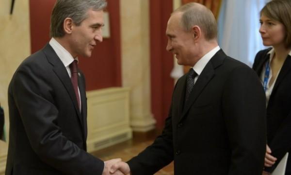 Iurie Leoancă și Vladimir Putin