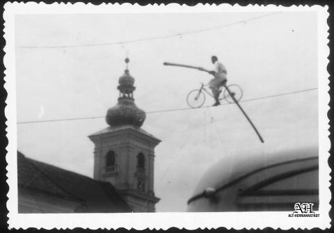 Acrobat pe sârmă- Arturo- Sibiu