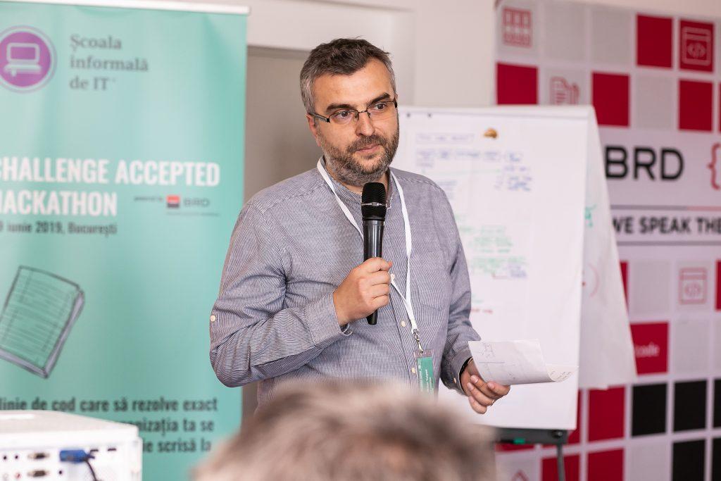 """Mihai Talpoș, co-fondatorul Școlii Informale de IT, a insistat de-a lungul timpul pe importanța dezvoltării de """"soft skills"""