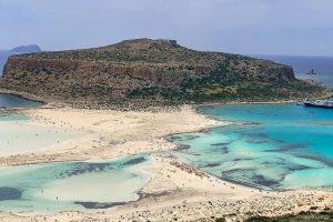 Laguna Balos, una dintre plajele paradisiace ale Cretei   Foto: Cristina Roșca