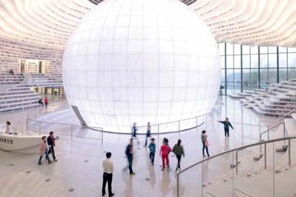 Cea mai cool bibliotecă din lume este în China