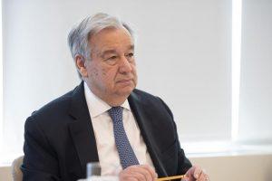 Șeful Organizației Națiunilor Unite (ONU), António Guterres