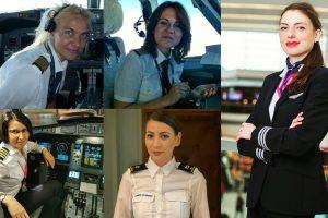 Femeile care conduc lumea pe deasupra norilor. Piloți în lupta cu prejudecățile