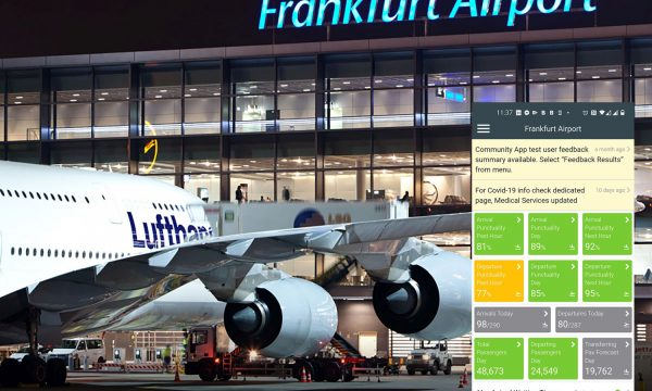 Community App at Frankfurt Airport – Photo – Fraport