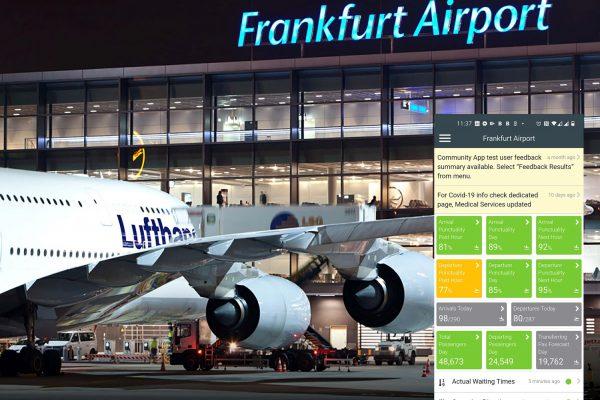 Community App la Frankfurt Airport