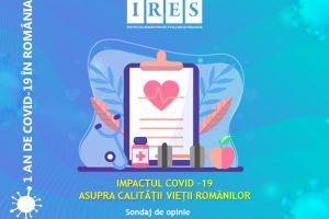 Primul an pandemic: calitatea vieții românilor în pandemie