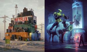 Netflix 2087 și Beyond Meat/Beeple