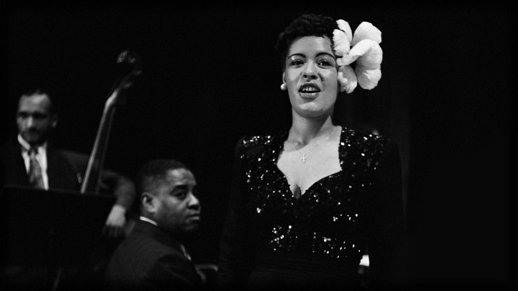 Billie Holiday în concert