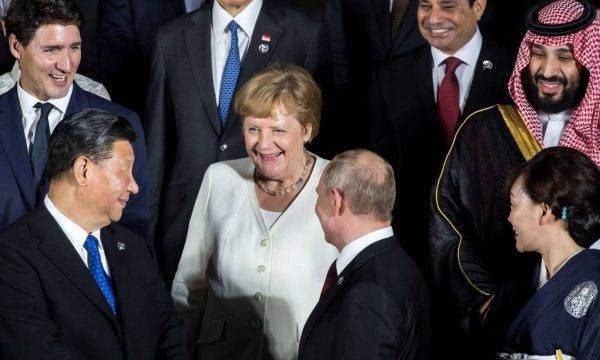 FILE PHOTO: G20 leaders summit in Osaka