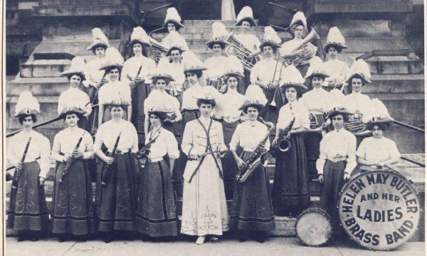 Helen May Butler Ladies Brass Band tst