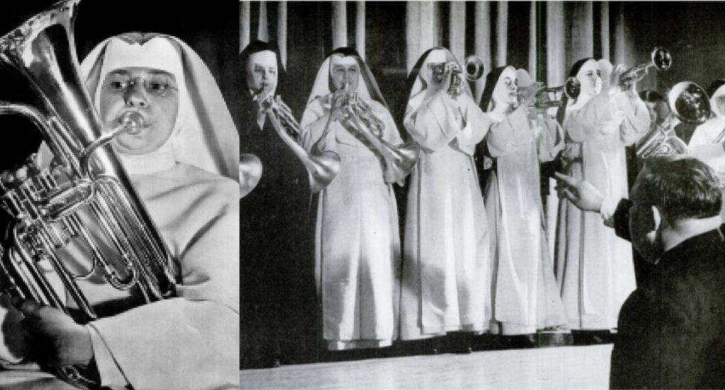 Orchestra măicuțelor din Fordham, 1954