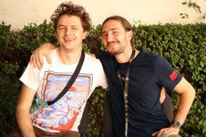 Alexei Țurcan (stânga) și Ioan Filip/Foto: Dan Bodea