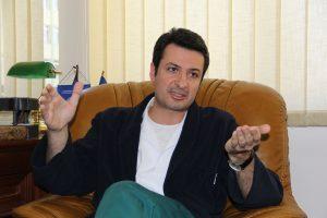 Patriciu Andrei Achimaș-Cadariu este medic specializat în obstetrică-ginecologie/Foto: Dan Bodea
