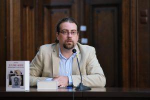 Lucian Vasile, istoric/Foto: Sorin Petculescu